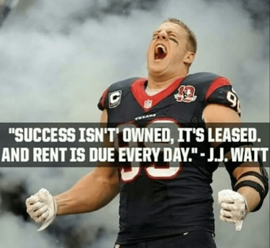 Inspirational Football Quotes About Life