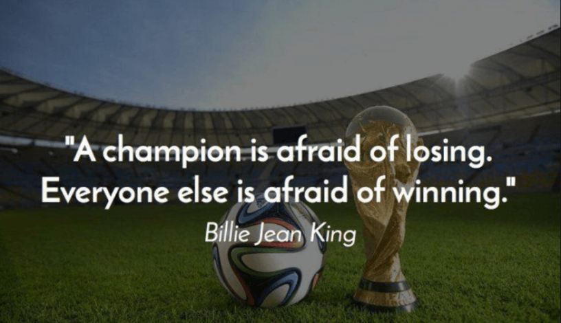 Inspirational Football Quotes After Loss
