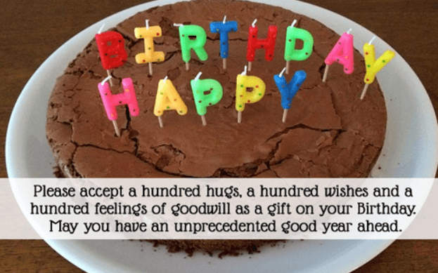 Inspirational Quotes Birthday Greetings