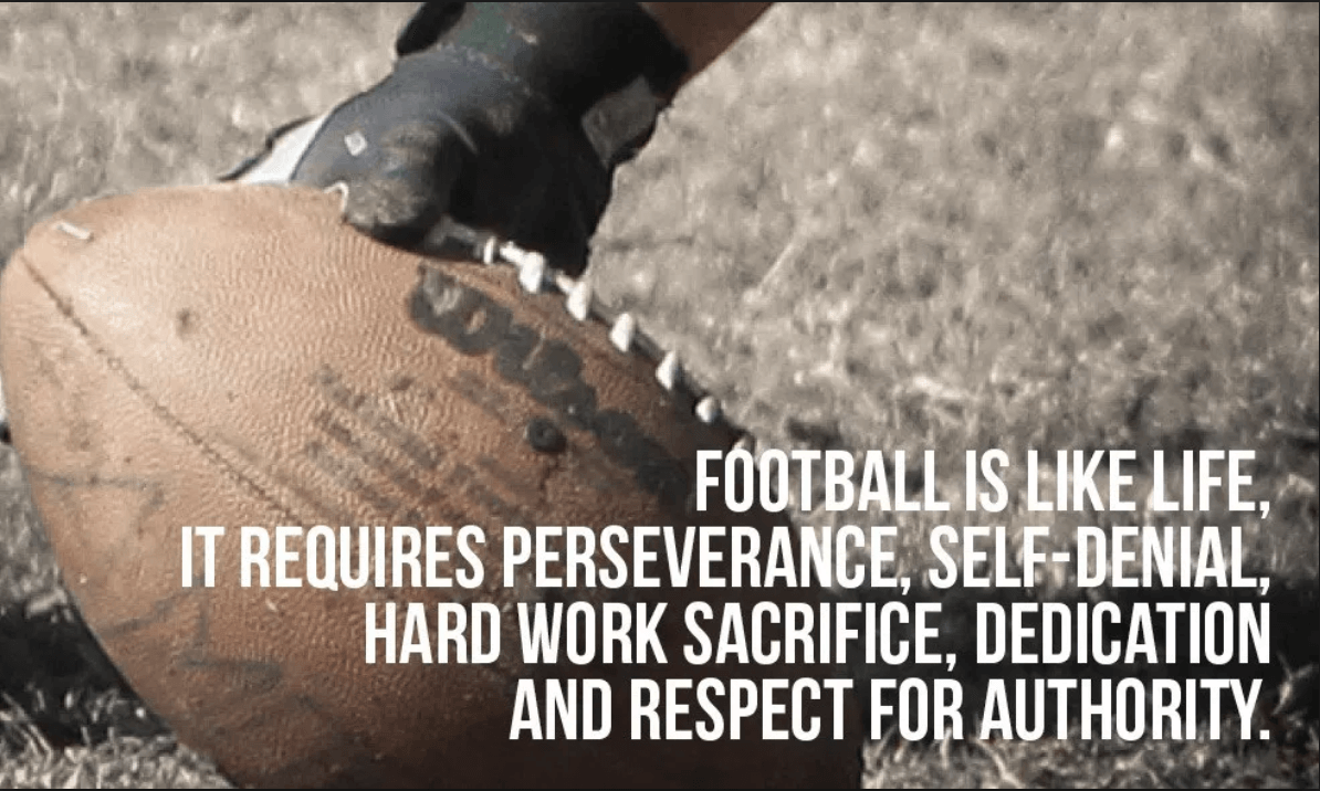 Inspirational Quotes For Football Athletes