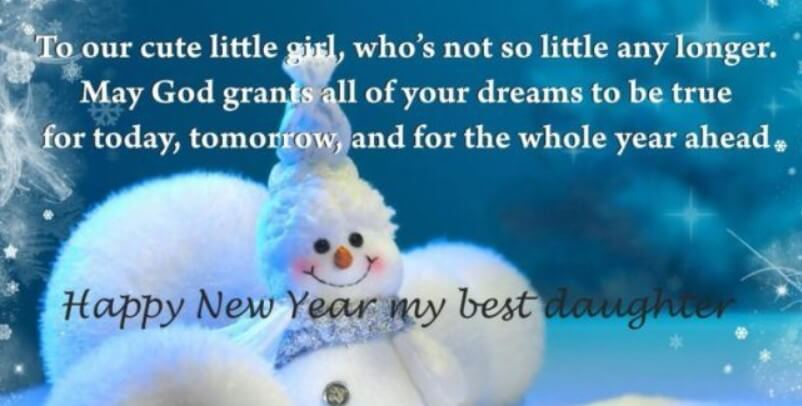 New Year Love Quotes For Daughter