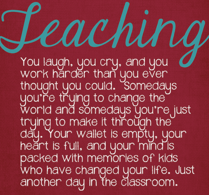 Teacher Quotes For Inspirational