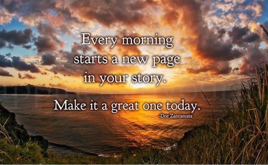 Beautiful Morning Inspirational Quotes