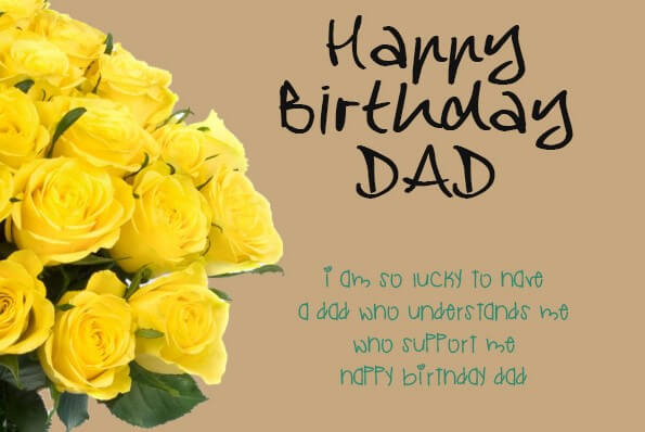 Birthday Card Quotes For Dad