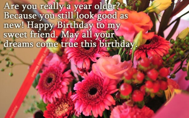 Birthday Greetings For A Friend Female