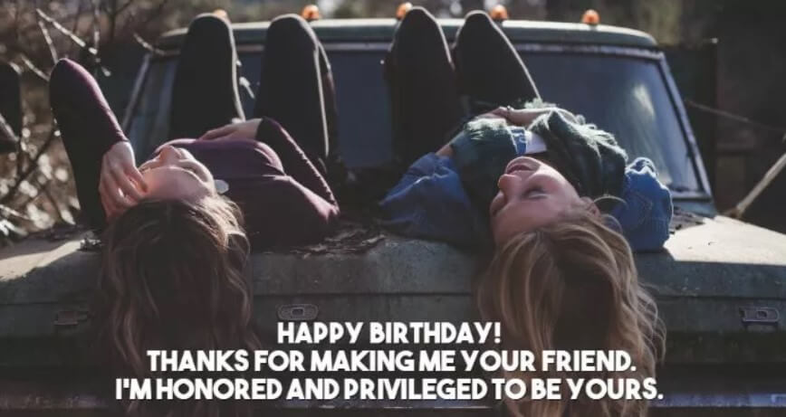 Birthday Greetings For Friends Far Away