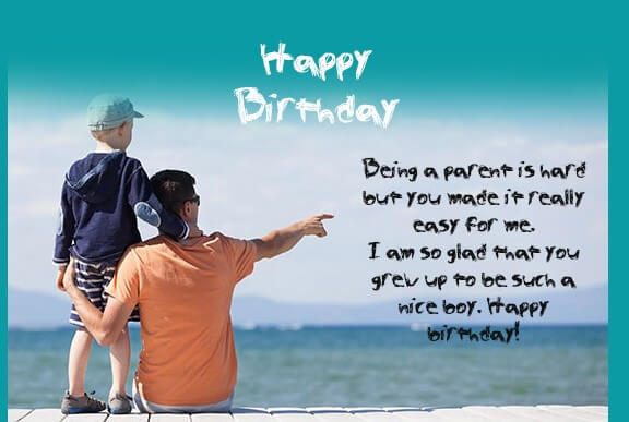 Birthday Quotes For Child Son