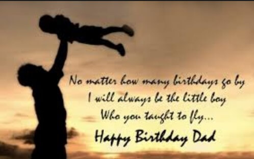 Birthday Quotes For Dad From Little Girl