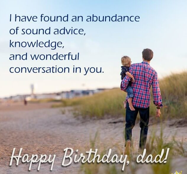 Birthday Quotes For Father With Images