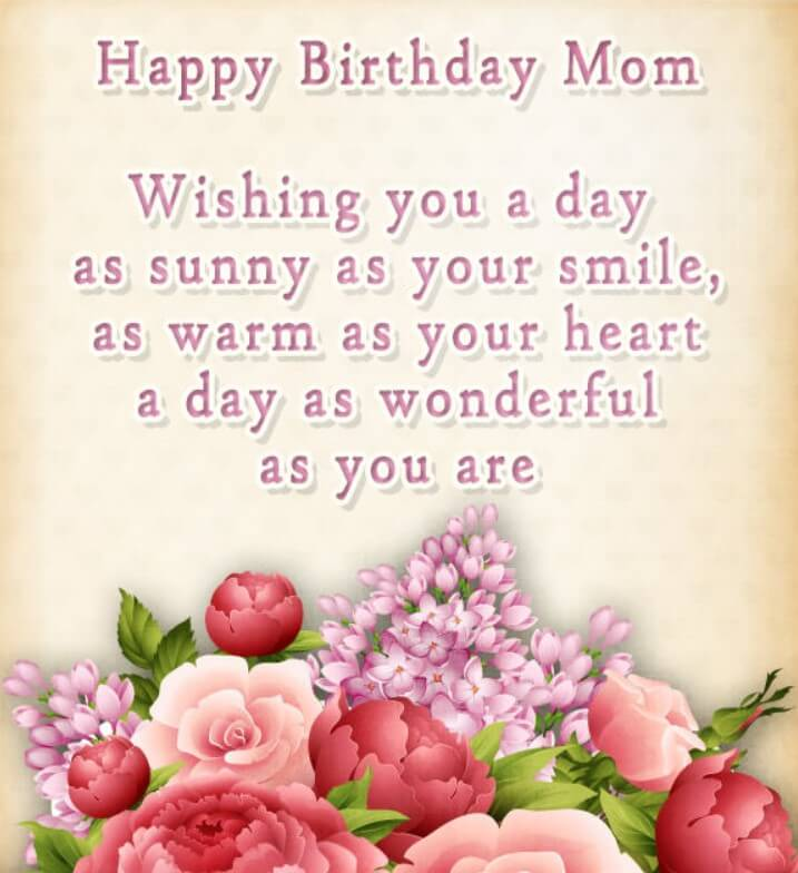Birthday Quotes For Good Mom