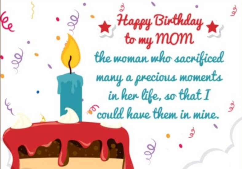 Birthday Quotes For Mom Birthday
