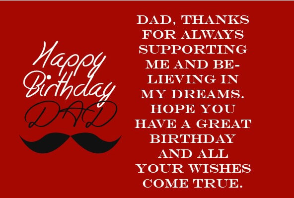 Birthday Quotes For World's Best Dad