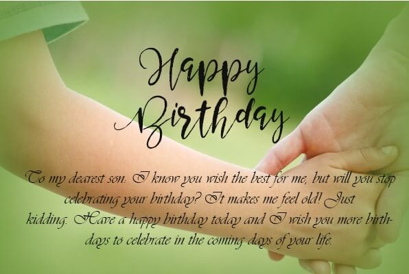 Cool Birthday Quotes For Son