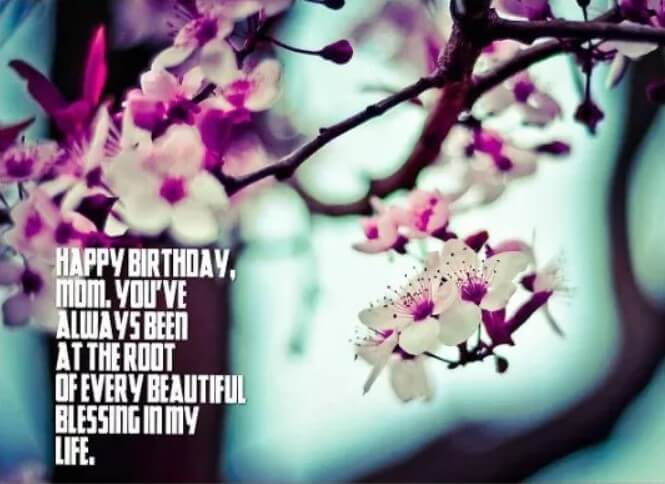 Cute Birthday Quotes For Your Mom
