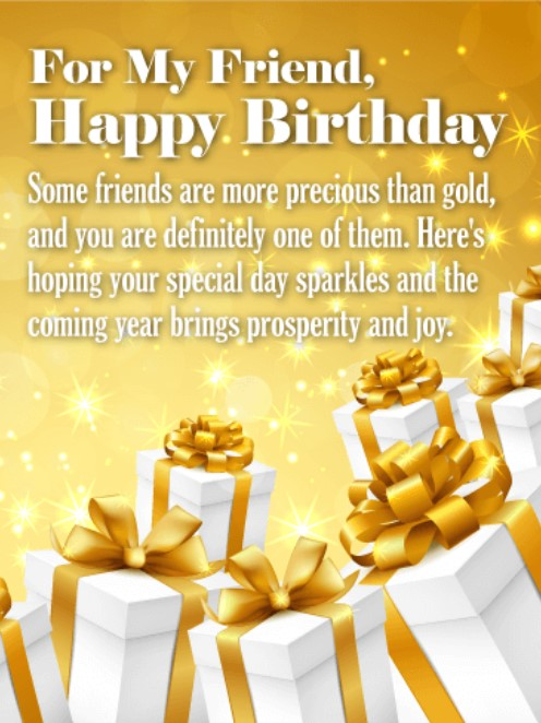 50 best happy birthday greetings to a friend  quotes yard