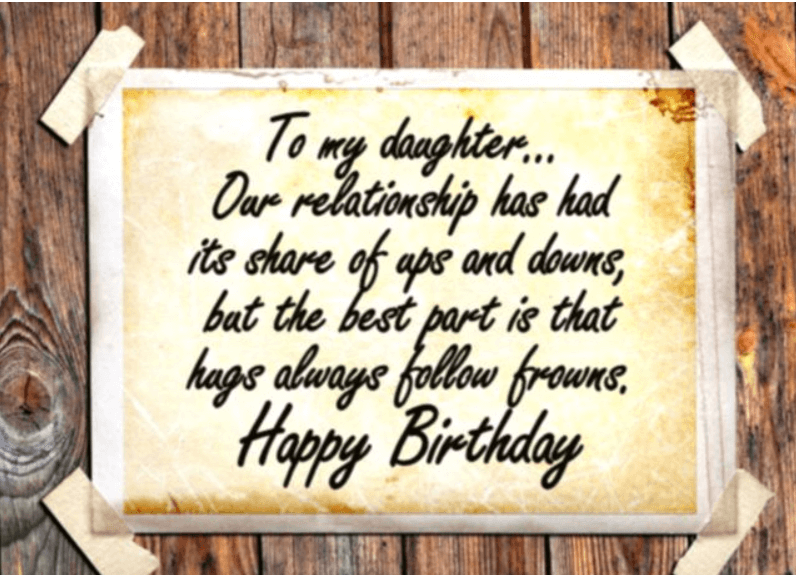 60 Best Happy Birthday Quotes And Sentiments For Daughter Quotes Yard