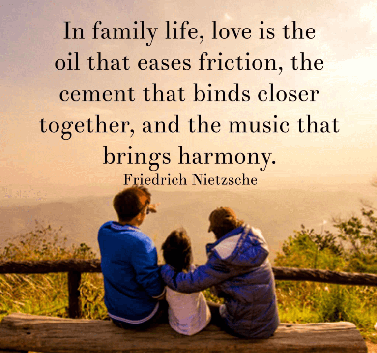 Good Inspirational Quotes About Family
