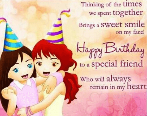 Happy Birthday Friendship Wishes