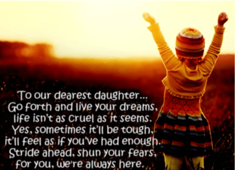 Happy Birthday Quotes For Loving Daughter