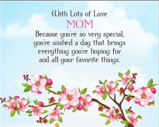 In Loving Memory Birthday Quotes For Mom