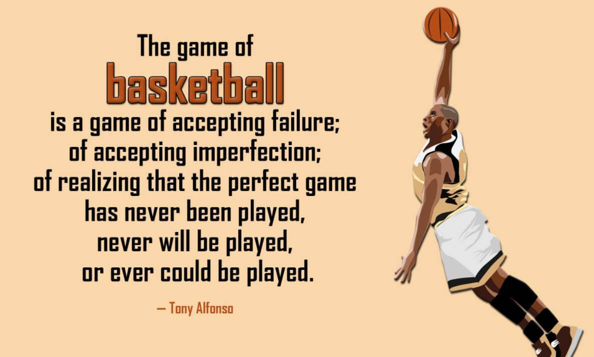 Inspirational Basketball Sports Quotes