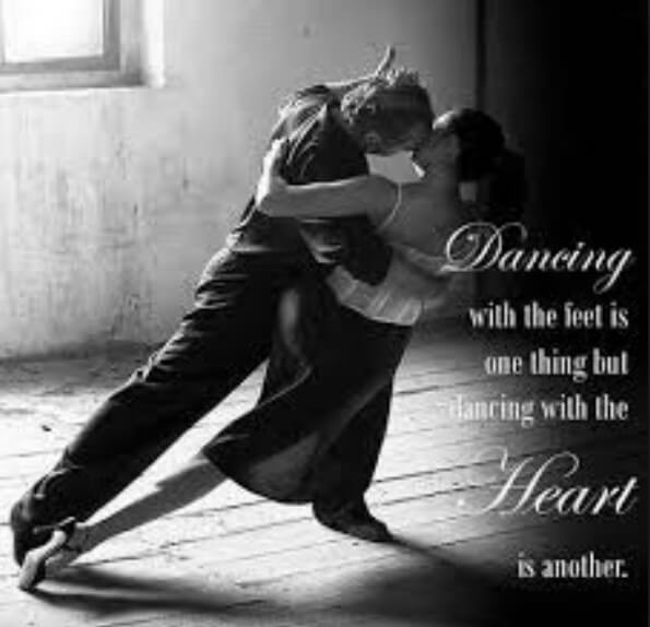 Inspirational Quotes About Dance And Love