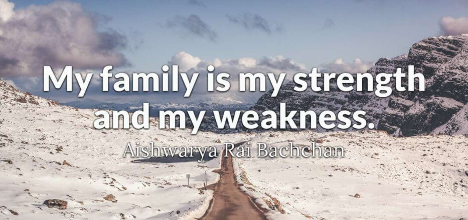 Inspirational Quotes About Family And Work