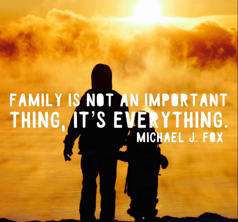 Inspirational Quotes About Love For Family