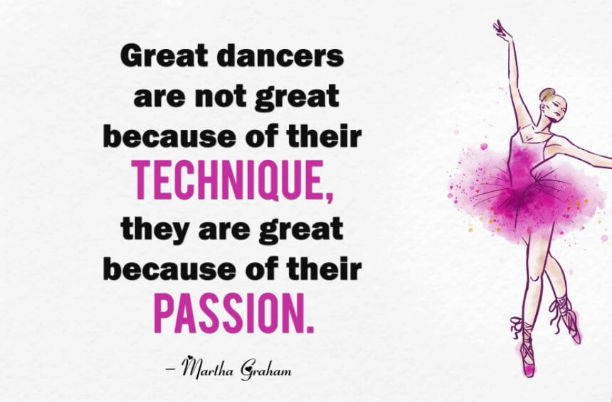 Long Inspirational Dance Quotes
