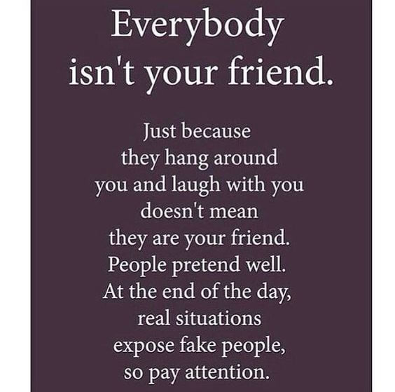 Motivational Quotes On Fake Friends