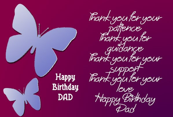 Nice Birthday Quotes For Dad