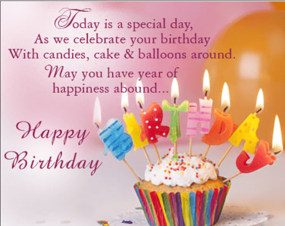 Top 85 Inspirational Birthday Greetings and Poems With ...