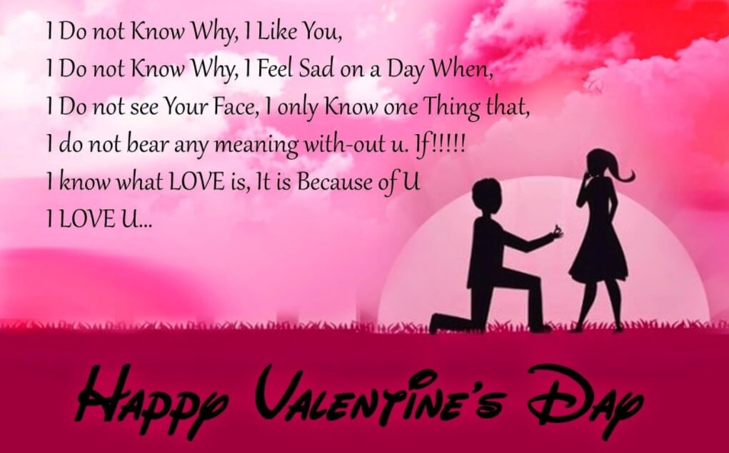 Valentine Love Quotes For Girlfriend