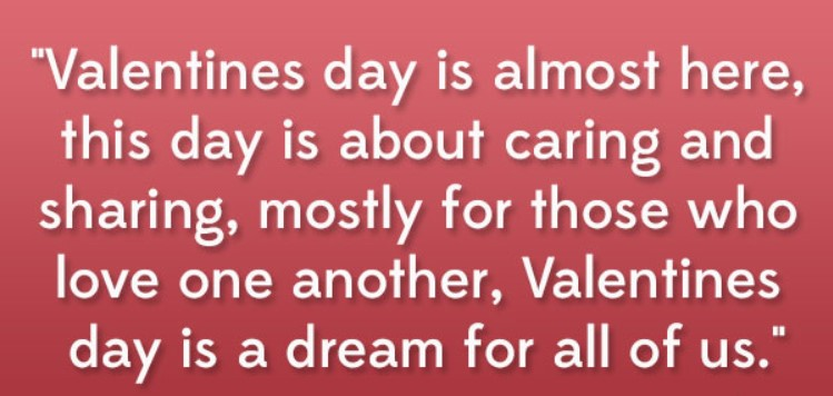 Valentine Love Quotes Messages