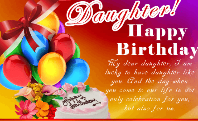 Wish To My Daughter On Her Birthday