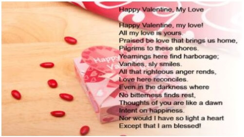 My Valentine Poems
