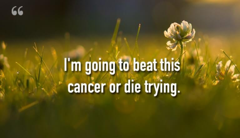 Inspirational Cancer Cure Quotes