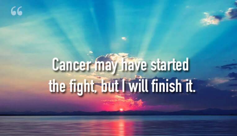 Short Inspirational Quotes About Cancer