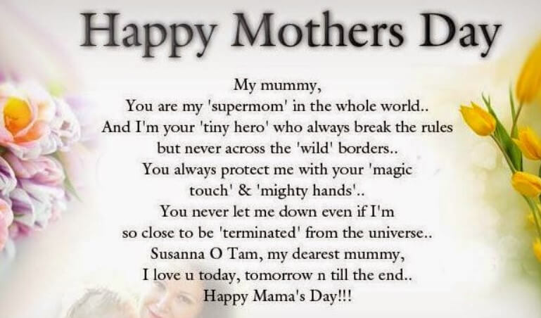 Mothers Day Love Poem