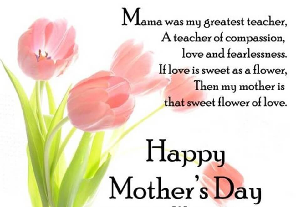 Mothers Day Wishing Poem