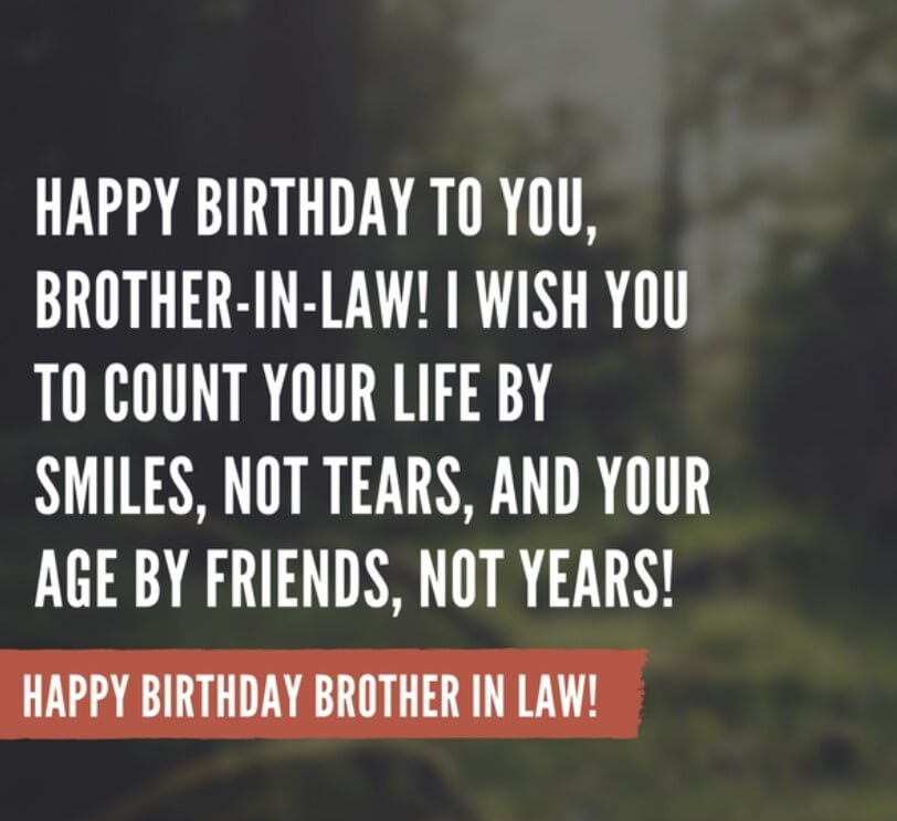 Birthday Wish For Brother In Law Sms