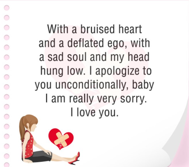 30 Cute I Am Sorry Love Quotes For Her Quotes Yard Heart Touching Sorry Messages For