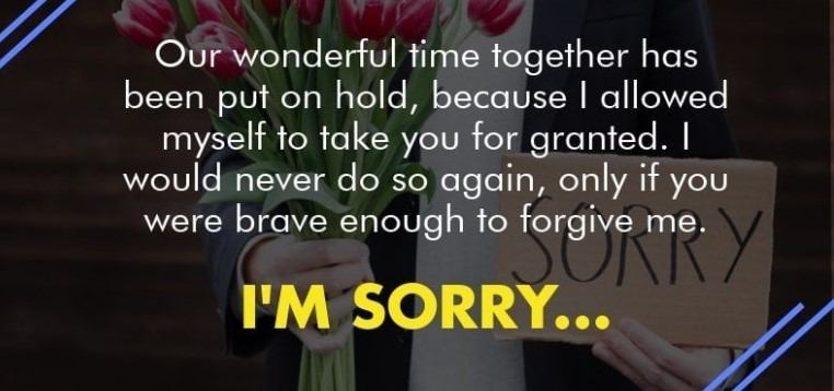 I Am Sorry And I Love You Quotes For Her