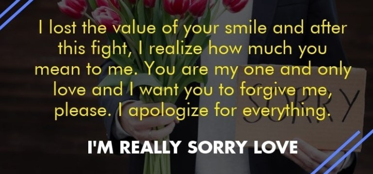 30 Cute I Am Sorry Quotes For Lovers Quotes Yard
