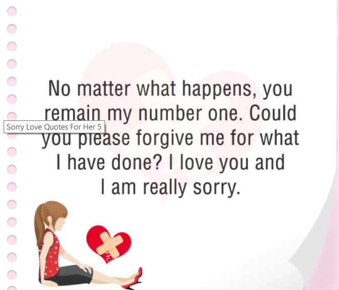 Long Sorry Messages For Boyfriend