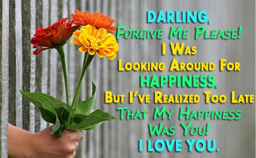 Love Quotes For Her Saying Sorry