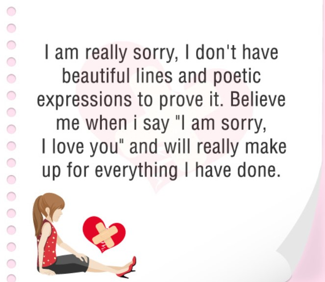 Love Quotes For Him From The Heart To Say Sorry