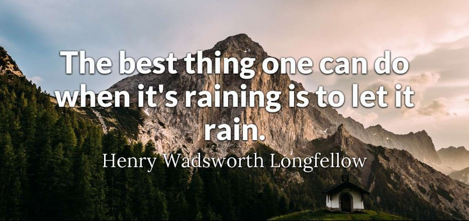 Quotes About Rain And Happiness