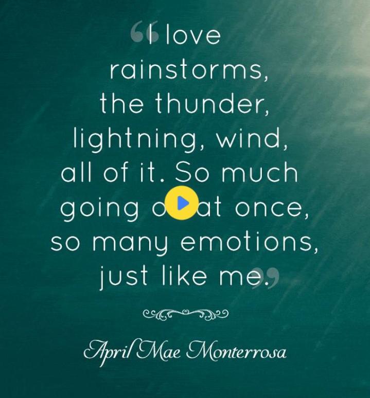 Rainy Day Emotional Quotes