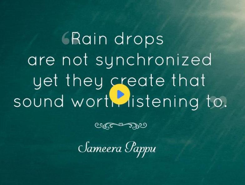 Rainy Day Motivational Quotes